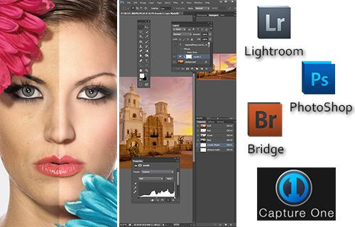 Retouching, Editing & Software